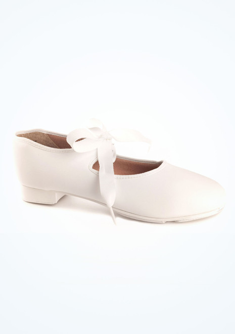 Capezio Zapatos claque 925 Junior Tyette Blanco. [Blanco]