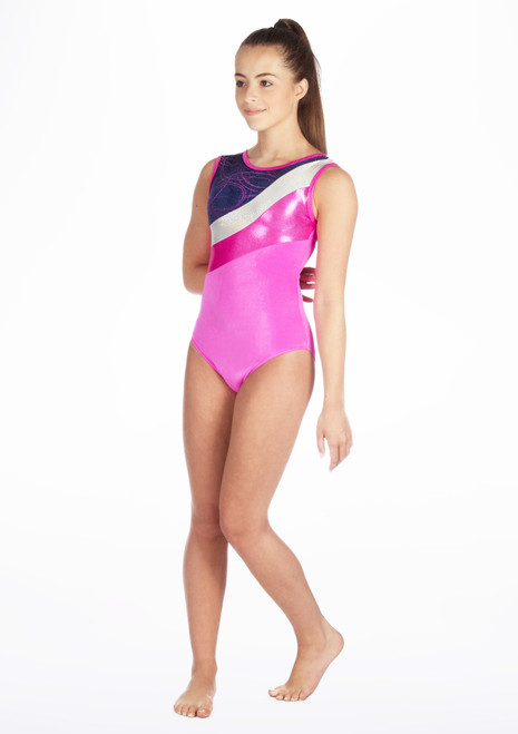Maillot de gimnasia Jamila GYM30 Tappers & Pointers Rosa. [Rosa]