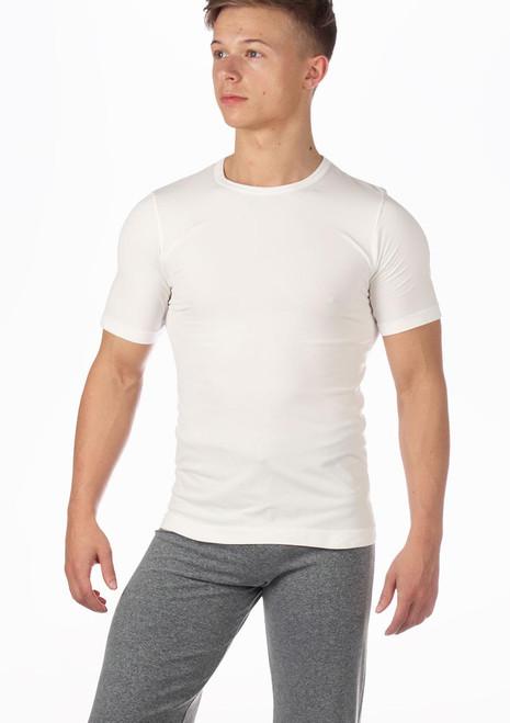 Camiseta hombre sin costuras Filipo de Move Blanco. [Blanco]