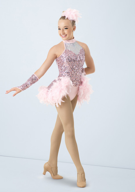 Weissman I Want To Be A Rockette Rosa frontal. [Rosa]