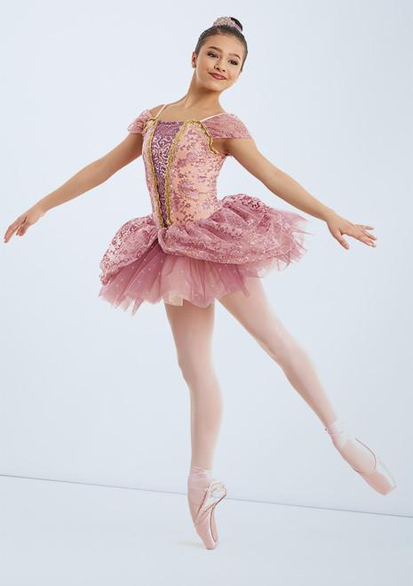Weissman Dance Of The Sugar Plum Fairy Rosa frontal. [Rosa]