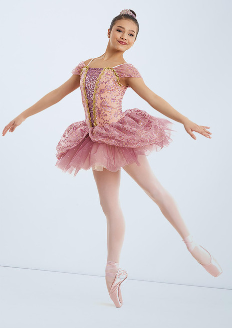 Weissman Dance Of The Sugar Plum Fairy Rosa frontal. [Rosa]