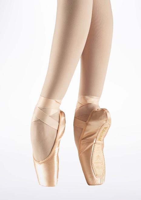 Puntas de Ballet Recital II Sansha Rosa. [Rosa]