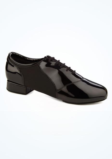 Zapato hombre de salon Tailwind de charol Ray Rose Negro imagen principal. [Negro]