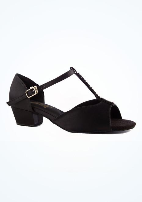 Zapato de baile de salon Jenny Roch Valley de 3 cm Negro imagen principal. [Negro]