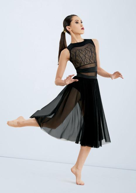 Messed Up Masterpiece Skirt [Negro]T