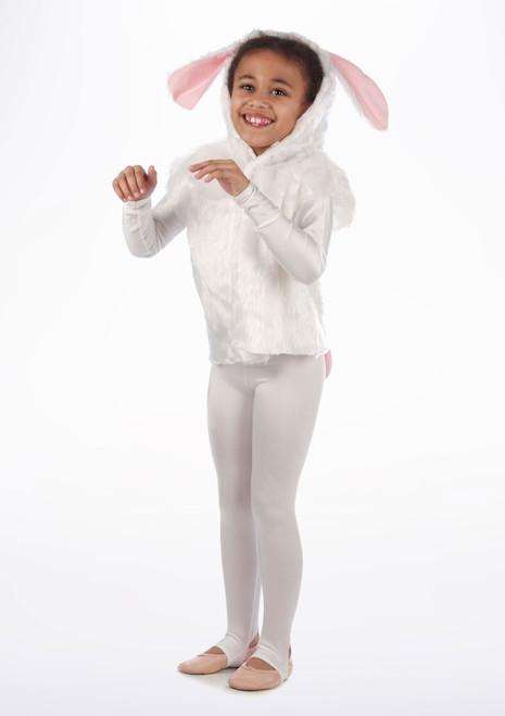 Tabardo de conejo Blanco. [Blanco]