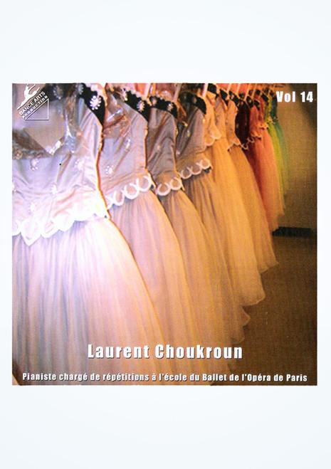 Laurent Choukroun Ballet Class Music Vol 14 frontal.
