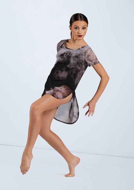 Weissman Printed Favorite Tee Dress