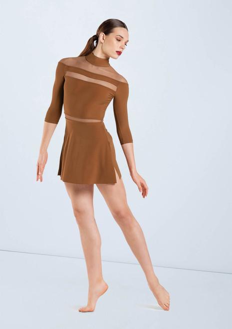Weissman Matte Jersey Shift Dress