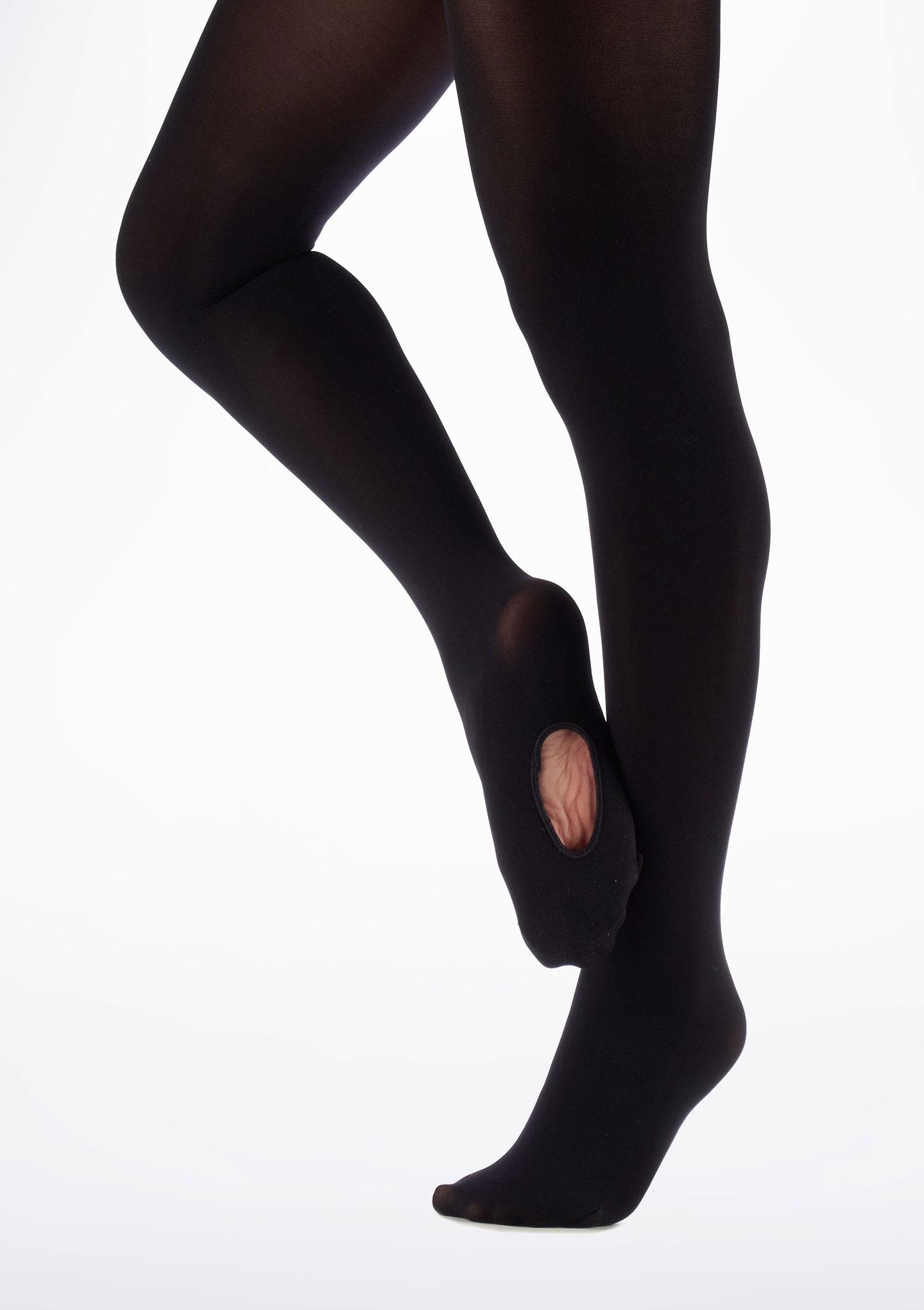 Move Medias de ballet convertibles Negro. [Negro]