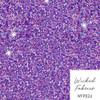 """Lavender Glitter Look"" Bamboo Elastane Jersey - 117CM END OF BOLT"