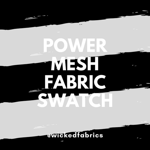 "Power Mesh/Power Net ""Fabric Swatch"" Sample Purchase"