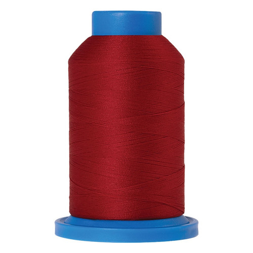 "Mettler Seraflock Polyester Thread in ""Country Red"" - 1000M Spool"
