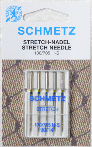 Schmetz Machine Needles | STRETCH | 130/705 90/14 - 5 Pack
