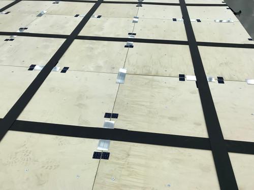 64 Panel 40' x 40' Baltic Birch Spring Floor Deck