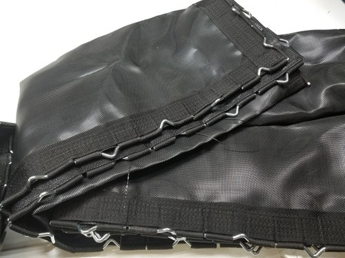 5' x 10' Standard Black Poly Trampoline Bed