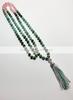 "Crystal Mala Necklace ""Treasure Chest"" 108cm"
