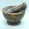 Mortar & Pestle Soapstone Natural 6cm x 10cm