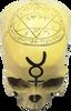 Skull Seal of Solomon Mystic Resin Statue ~ 12.5cm