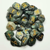 Emerald Natural Gemstone Rune Set