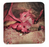 Glass Dragon Magnet Red 5.5cm
