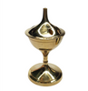 Brass Incense Burner Charcoal Holder 12.5cm