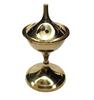 Brass Incense Burner Charcoal Cone Holder 12.5cm
