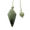 "6 Sided Labradorite Pendulum ""Milky Way"""