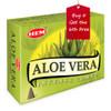Aloe Vera Hem Incense Cones