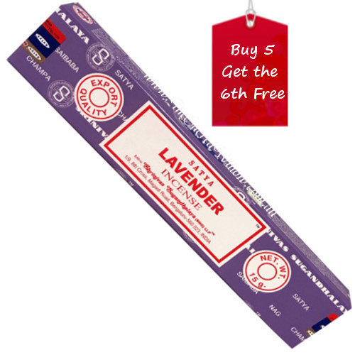 Satya Lavender Incense Sticks 15g