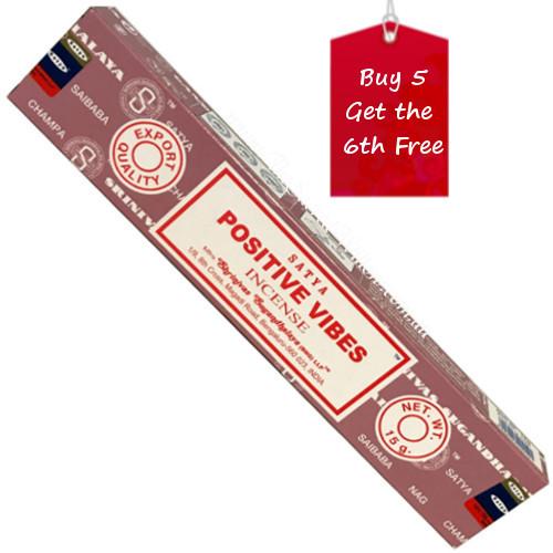Satya Positive Vibes Incense Sticks 15g