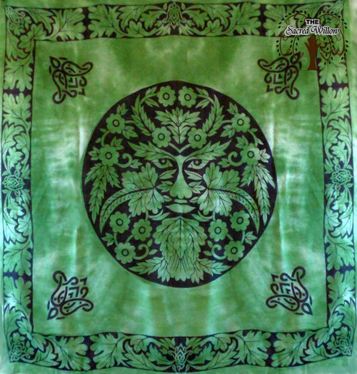 90cm Greenman Altar or Tarot Cloth
