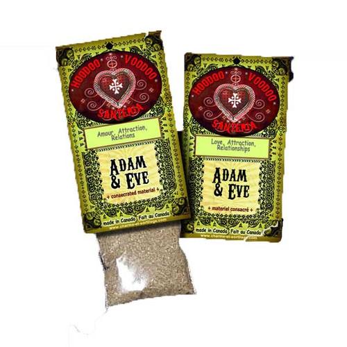 Hoodoo Voodoo Santeria Adam and Eve Powder