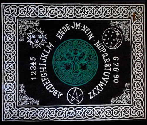 60cm Tree of Life Ouija Board Altar or Tarot Cloth