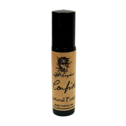 Confidence Essential Oil Potion 10ml - Roll On  - Lyllith Dragonheart