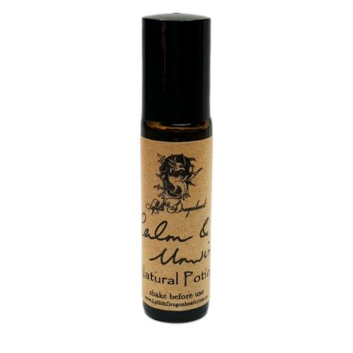 Calm & Unwind Essential Oil Potion 10ml - Roll On  - Lyllith Dragonheart