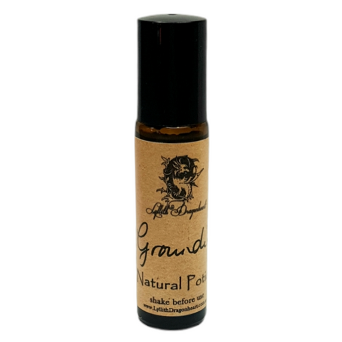 Grounding Essential Oil Potion 10ml - Roll On  - Lyllith Dragonheart