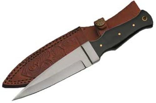 Black Horn Handled Athame