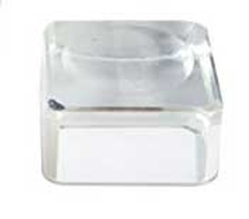 Mini Glass Cube Crystal Ball Stand, Crystal Ball Holder
