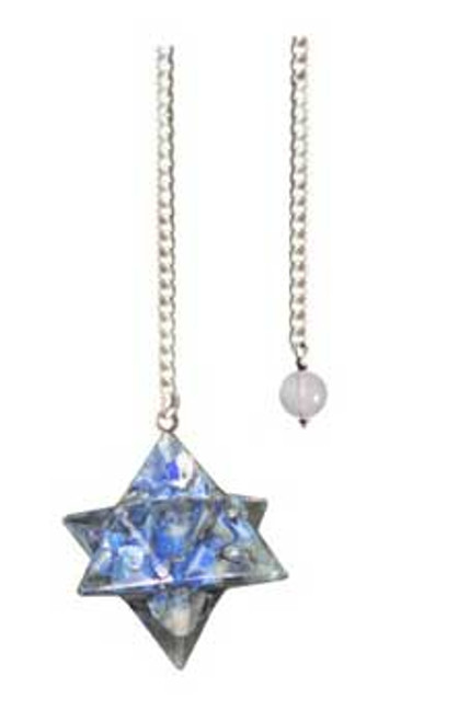 Lapis Lazuli Merkabah Orgone Pendulum