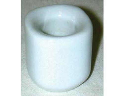 White Ceramic Stars Chime Candle Holder 26mm