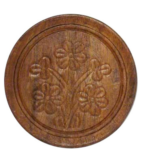 Carved Wooden Coaster
