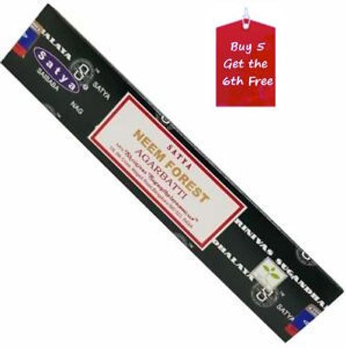 Satya Neem Forest Incense Sticks 15g