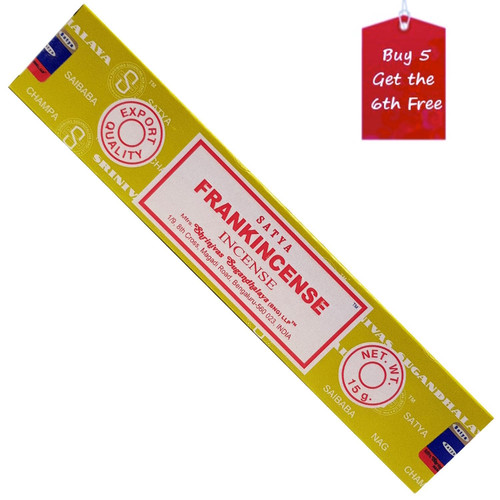 Satya Frankincense Incense Sticks 15g