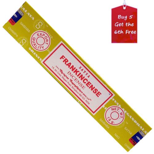 Satya Frankincense Incense Sticks 15g