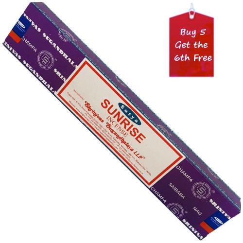 Satya Sunrise Incense Sticks 15g