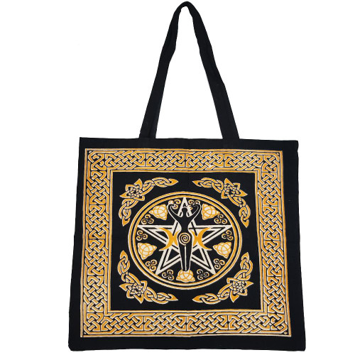 Pentacle Goddess Tote Bag