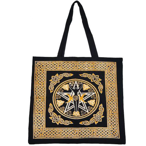 Pentacle Goddess Tote Bag