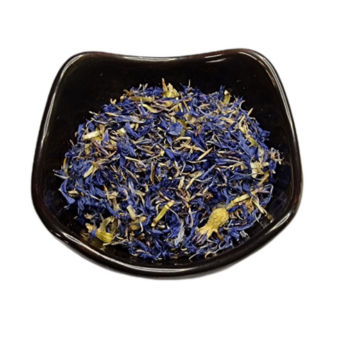 Blue Cornflower (Centaurea cyanus) Dried Flower